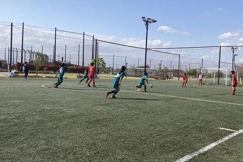 2021.04.03 5・6年生 練習試合 vs KRL CAVALO FC U-12