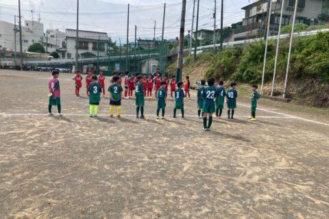 2021.05,29 U-10練習試合 vs 中根サッカーアカデミー(東京都目黒区)