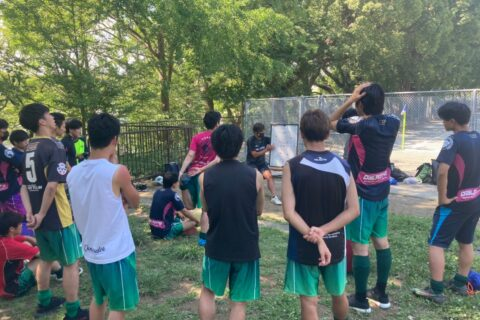 2021.07.25 トップ 練習試合 vs ASAHI 38(横浜市3部)